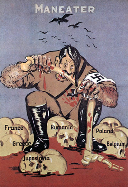 world war 2 propaganda thesis
