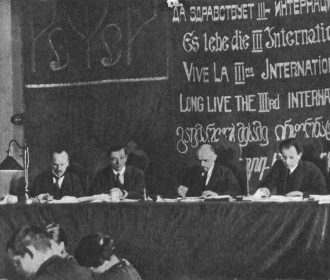 Kongress der komintern im märz 1919 in moskau