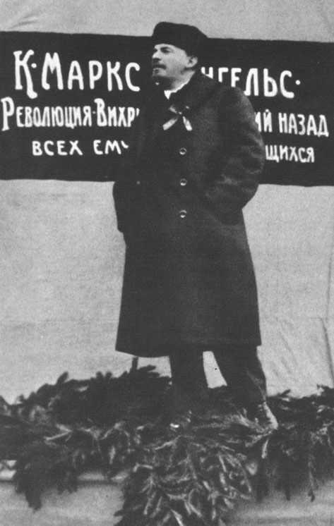1918 auf dem roten platz